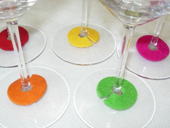Bild von Glasmarker Rondellen