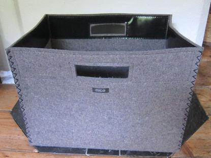 Bild von Filzbox für Brennholz klein