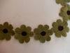 Bild von Filzblumen petrol 20 Stück