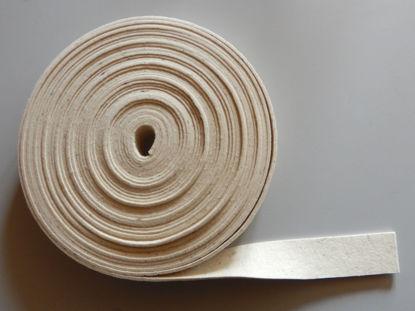 Bild von Filzband rohweiss unkarbonisiert